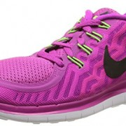 Nike Free 5.0, Women's Running Shoes, violet (Fuchsia flash/Black-Pink Power-Hot lava), 37.5 I