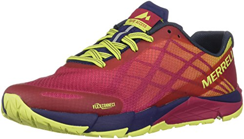 Merrell Damen Bare Access Flex Hallenschuhe, Rot Persian Red, 39 EU