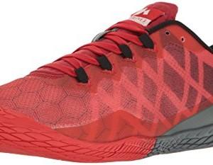 Merrell Herren Vapor Glove 3 Indoor shoes, Rot (Molten Lava), 44 I